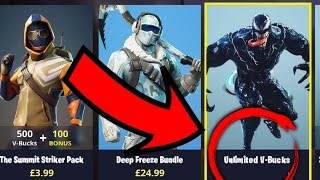 VENOM donne UNLIMITED 'V-Bucks' loin dans FORTNITE! (Venom joue fortnite) Changeur de voix de venin
