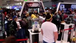 """Comic-Con 2015 - Стенд """"Звёздные войны"""""""