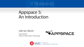 Appspace 5: An Introduction