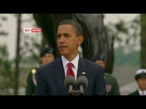 Sky News - Barack Obama: Talks about D-Day