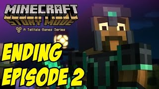 Minecraft Story Mode Episode 2 Ending Final Boss Fight Episode 3 Preview Trailer
