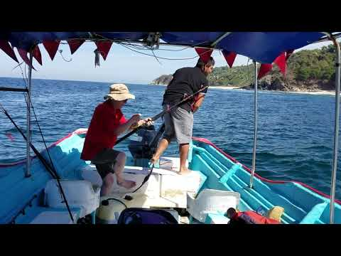 Fishing off the Mexican coast near Lo De Marcos, Nayarit