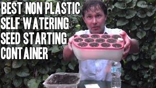 Best Indoor Self Watering Seed Starting Pot For Beginners