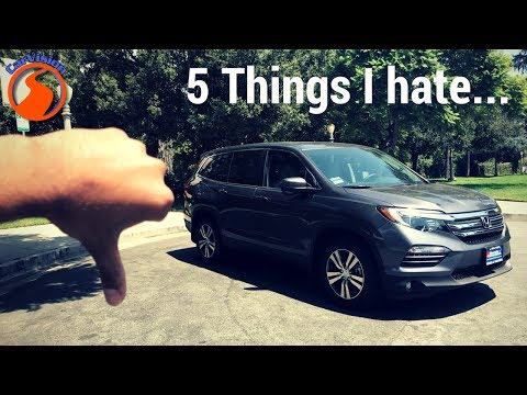 2017 Honda Pilot - 5 Reasons why you SHOULD NOT buy one