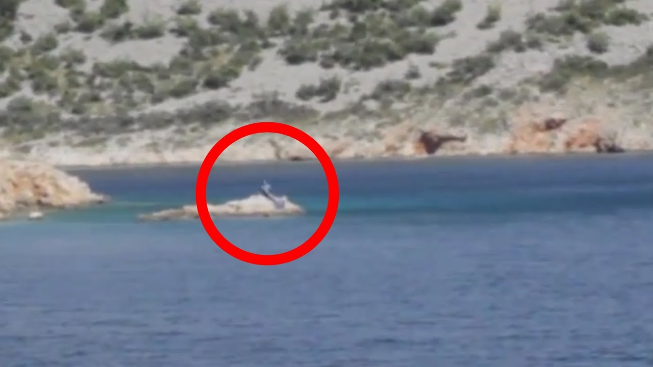 Real Mermaid caught on camera in Mallorca, Spain on 10/20 ...