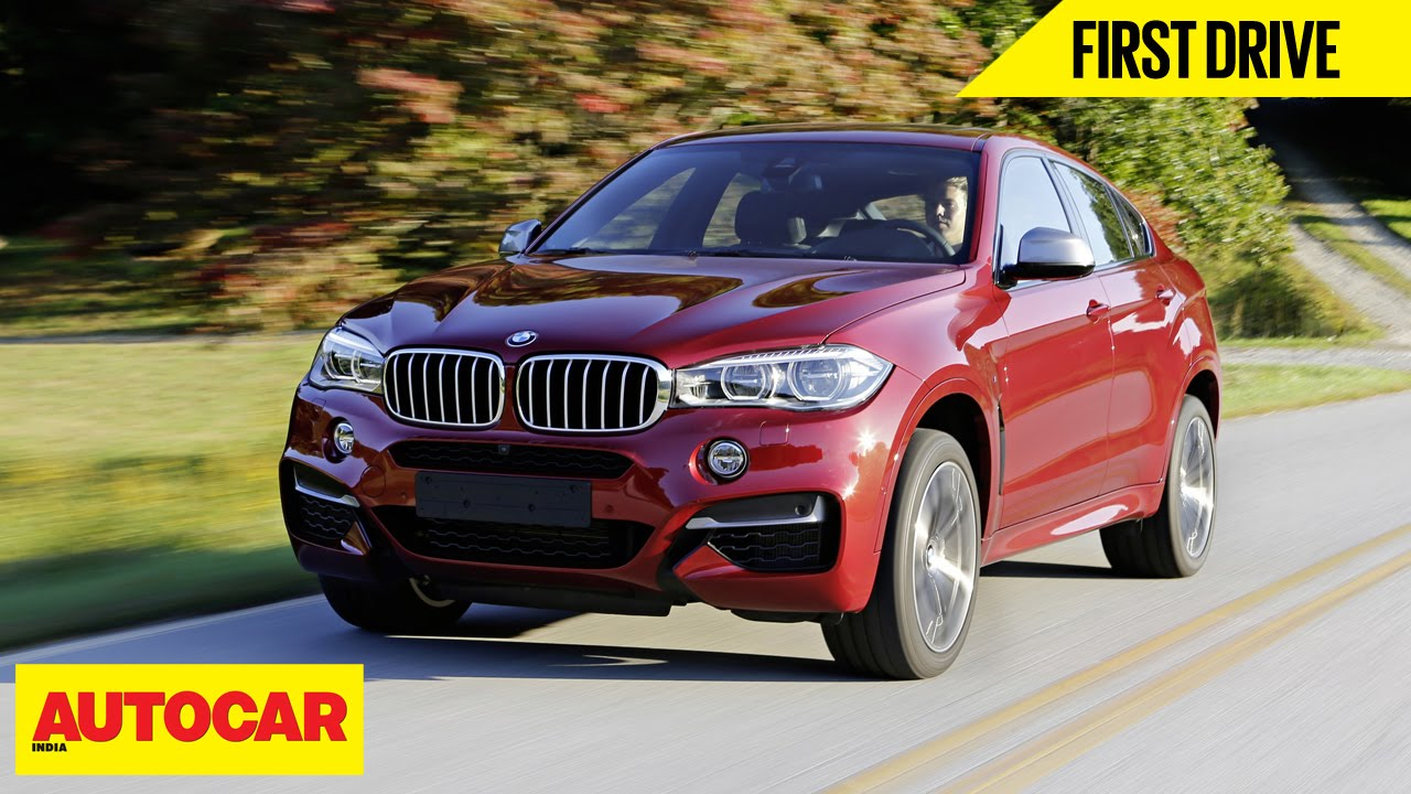Bmw X6 M50d First Drive Autocar India Youtube