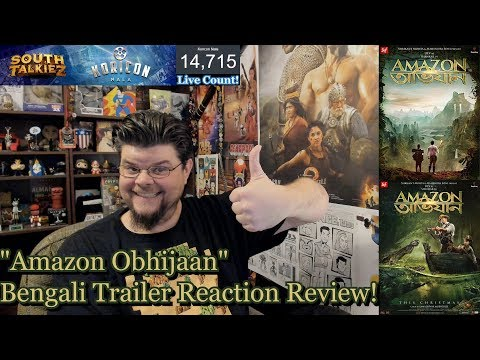 Amazon Obhijaan - Bengali Trailer Reaction...