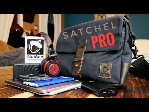 NutSac Satchel Pro Review- Best man bag