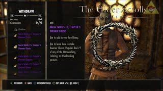 Best Racial Motif Farming For Ebonheart Pact: Elder Scrolls Online
