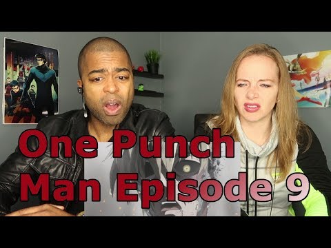 One Punch Man Episode 9