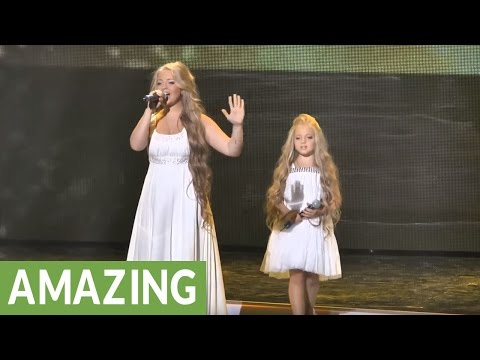 Sister duo magnificently  Mariah Careys Without You