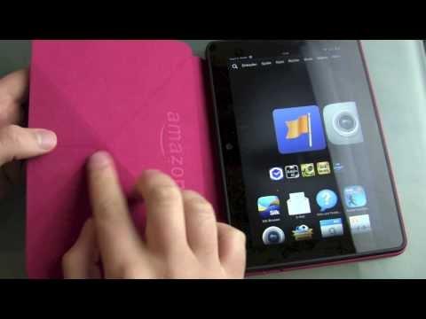 Amazon Origami Hülle Review für das Kindle Fire HDX 7