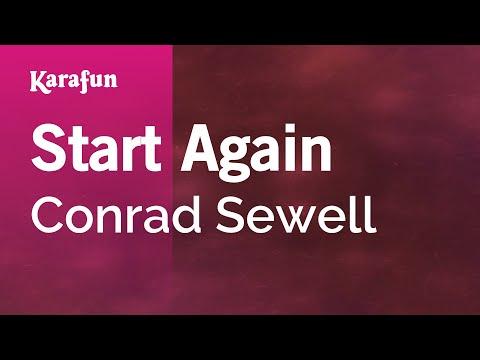 Karaoke Start Again - Conrad Sewell *