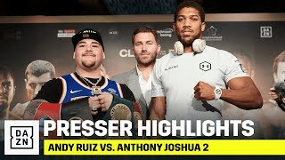 HIGHLIGHTS | Andy Ruiz vs. Anthony Joshua 2: Final Press Conference