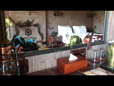 Room at Vintage Luxury Yatch Hotel , Myanmar
