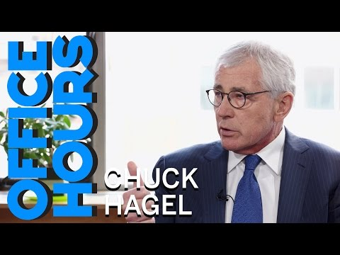Chuck Hagel: Advice from one SecDef to Another