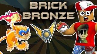 MONFERNO WINS ARC BADGE! - Pok̩mon Brick Bronze #2 | ROBLOX