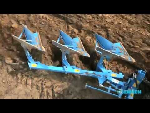 Hydraulic Reversible Plough LEMKEN Opal090