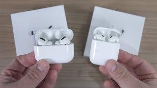 Apple AirPods Pro VS AirPods 2 -  Unboxing & Vergleich! (Deutsch)