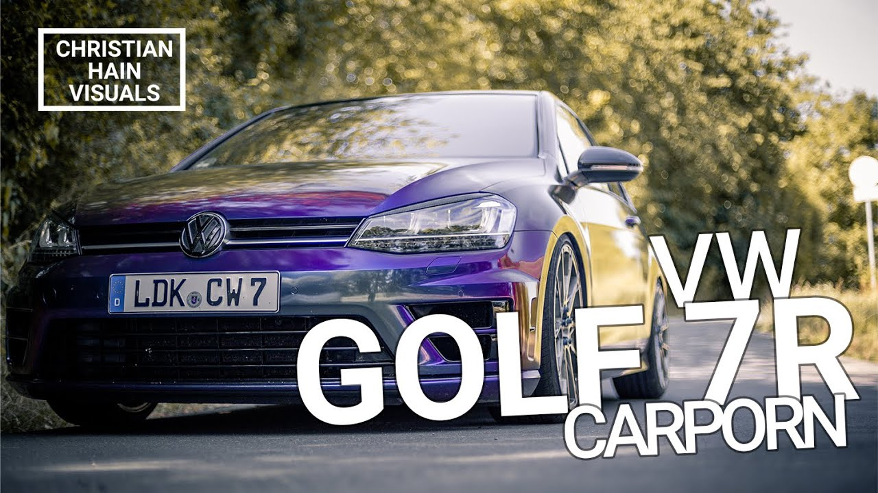 VW GOLF 7R - Carporn | Christian Hain VISUALS