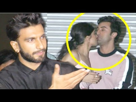 Ranveer Singh ANGRY On Deepika After KISSING Ranbir Kapoor After Marriage