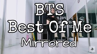 Bts - Best of me (MIRRORED)  Dance Cover Tutorial by July Danc