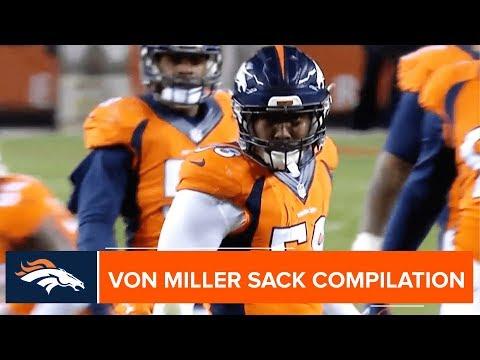 Every Von Miller Regular Season Sack Compilation | Denver Broncos