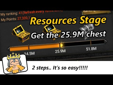 [Playing Events] Get The 25.9M Chest In Resources Stage