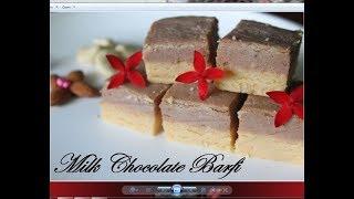 Rakshabandhan special milk chocolate burfi/barfi /10 min barfi recipeby Raks Food Diaries