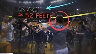 "Stephen Curry ""AMAZING"" Shots Compilation :: FULL COURT TUNNEL SHOTS"