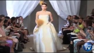 Carolina Herrera Debuts Her Spring 2013 Bridal Collection