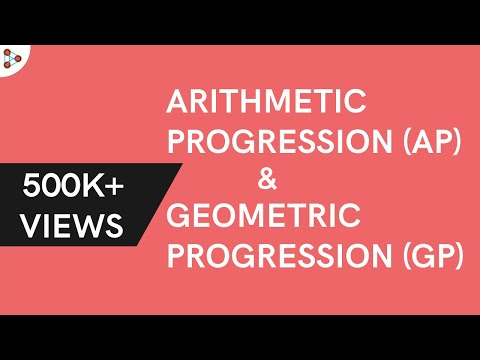 Arithmetic Progression and Geometric Progression ( GMAT / GRE / CAT / Bank PO / SSC CGL)