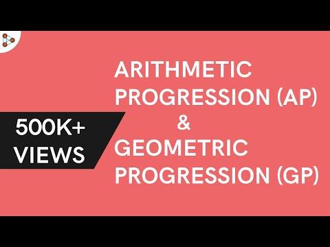 Arithmetic Progression and Geometric Progression