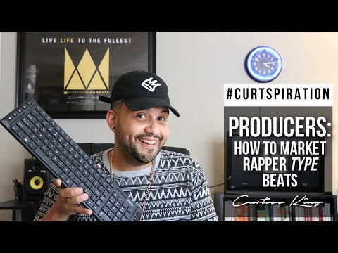 Hip Hop Producers! How To Properly Market RAPPER TYPE BEATS #Curtspiration