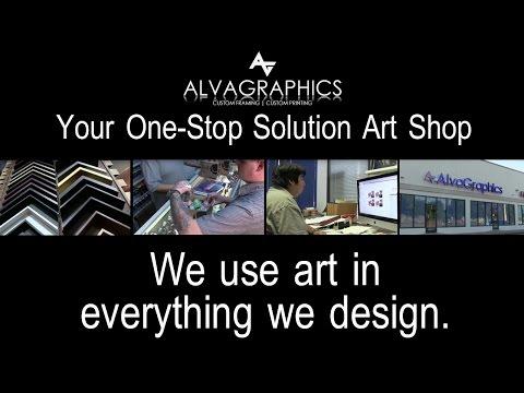 Houston Custom Framing, Custom Printing - Alva Graphics NEW ADDRESS