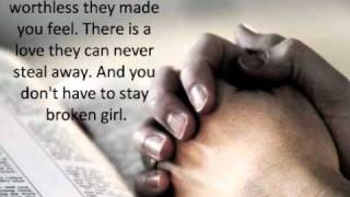 Download Broken Girl by Matthew West with lyrics Mp3 and Videos