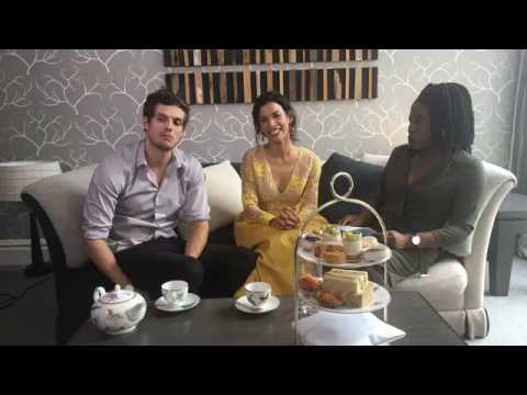 Metro Entertainment - #FearTWDLondon: Daniel Sharman & Danay García Interview