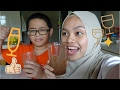 SMOOTHIE CHALLENGE WITH IMAN (SOMEONE'S ALMOST PUKED!)