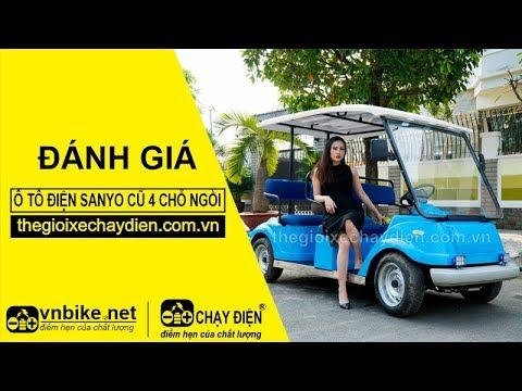 Đánh giá ô tô điện Sanyo cũ 4 chỗ ngồi
