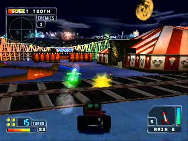 Twisted Metal 4 Boss Final Sweet Tooth