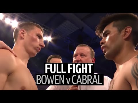 Full Fight: Sam Bowen V Horacio Alfredo Cabral | Brutal Body Shots