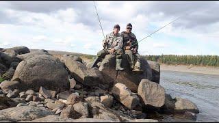 Рыбалка на горной реке Супер клев хариуса Море впечатлений Часть 2