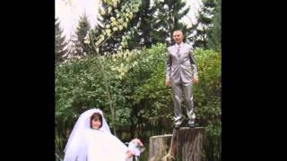 Ролик из фото На нашу годовщину свадьбы 5 лет