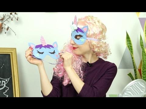 Готовимся к волшебной вечеринке! Простые единорожьи аксессуары/Unicorn party accessories