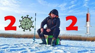ВЕЦДАУГАВА Первый выход на лед в 2021 Ловля окуня на проверено уловистый и СЛИШКОМ дешевый балансир
