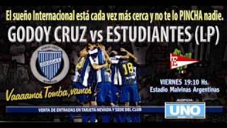 Godoy Cruz vs. Estudiantes | Anuncio oficial