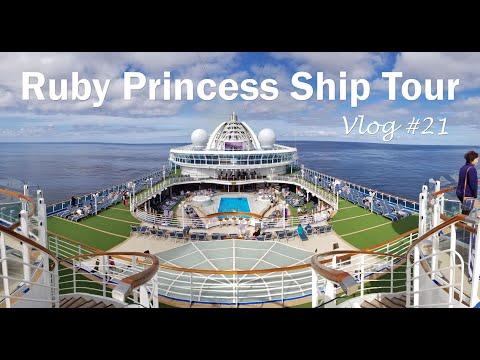 Ruby Princess Ship Tour | Vlog #21
