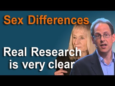 Sex Differences - the Real Research is Very Clear