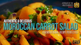 Moroccan Carrot Salad - Tнe Real Recipe   The Solitary Chef