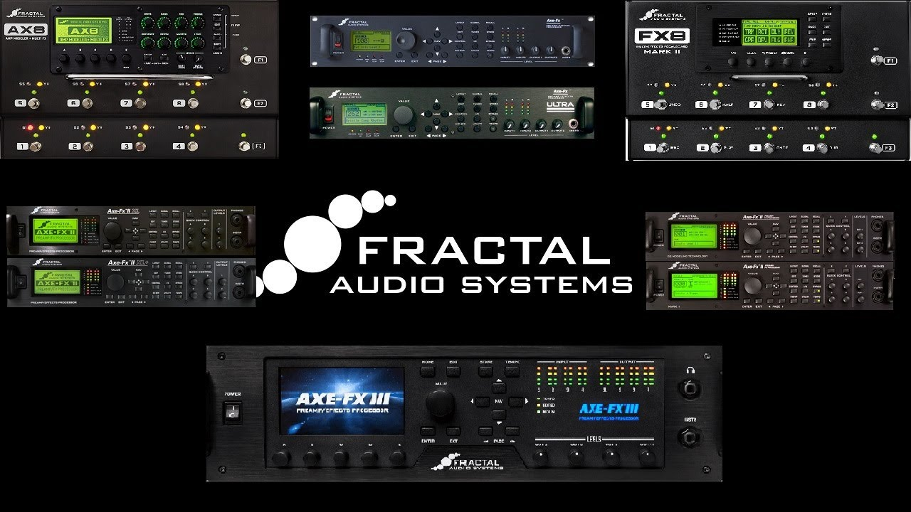 Differences Between All the Fractal Audio Axe Fx Units